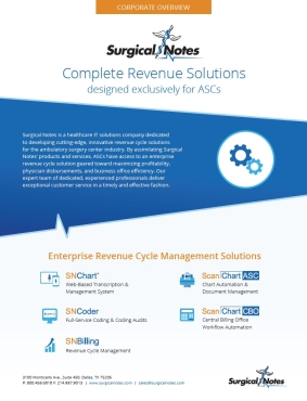 Surgical Notes Solutions